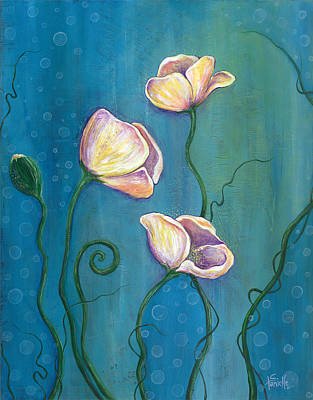 Painting - Sea Blossoms by Tanielle Childers