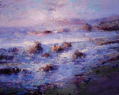 Sea Breeze Art Print by R W Goetting