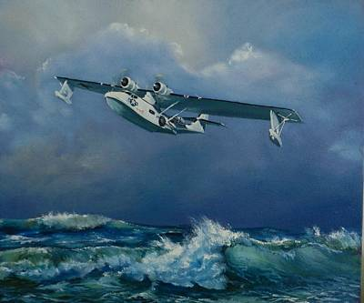 Painting - Sea Cat by Robert Teeling