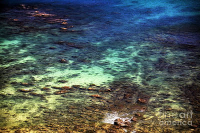 Photograph - Sea Colors by John Rizzuto