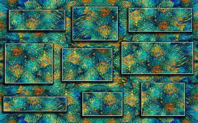 Deep Think Digital Art - Sea Coral by Betsy Knapp