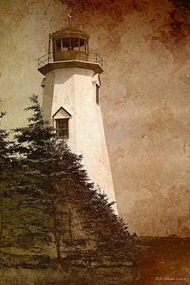 Photograph - Sea Cow Head Lighthouse by WB Johnston