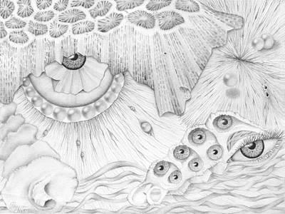Painting - Sea Deep In Wisdom by Sharon Ebert