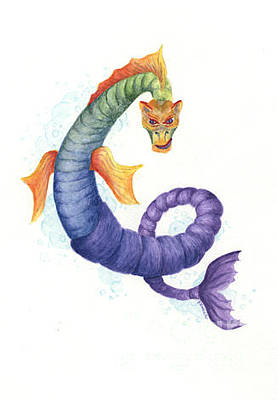 Painting - Sea Dragon by Kathleen Keller