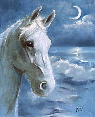 Sea Dreams In Blue Art Print