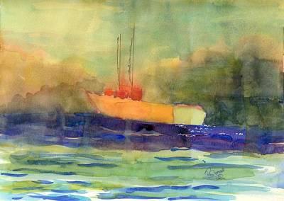 Sea Farer Art Print by Marsden Burnell