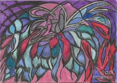 0044 Sea Flower Art Print by Essel Emve