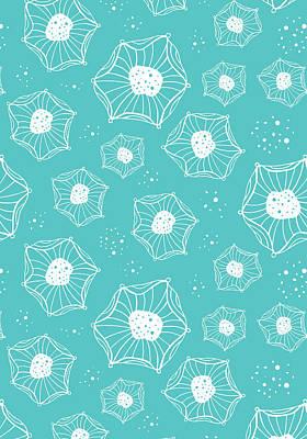 Sea Flower Art Print by Susan Claire