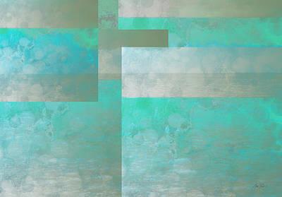 Digital Art - Sea Foam - Abstract - Art by Ann Powell