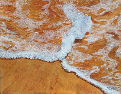 Sea Foam Original by Christine Deemer