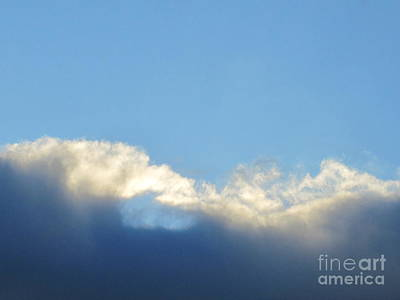 Photograph - Sea Foam Clouds 1 by Tara  Shalton