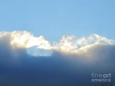 Photograph - Sea Foam Clouds 2 by Tara  Shalton