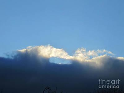 Photograph - Sea Foam Clouds 3 by Tara  Shalton