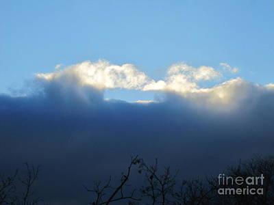 Photograph - Sea Foam Clouds 4 by Tara  Shalton