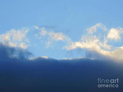Photograph - Sea Foam Clouds 6 by Tara  Shalton