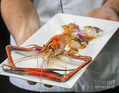 Sea Food Manu Art Print by Anek Suwannaphoom