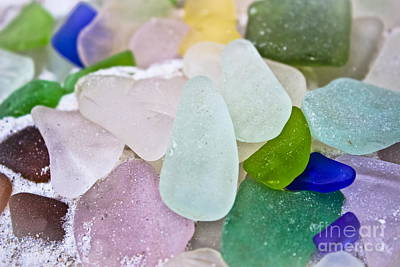 Photograph - Sea Glass by Colleen Kammerer