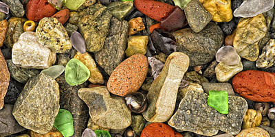 Sea Glass Photograph - Sea Glass by Darylann Leonard Photography
