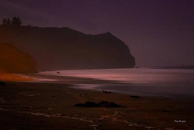Photograph - Sea Glow -  Avila Beach by Tim Bryan