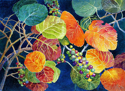 Painting - Sea Grapes II by Roger Rockefeller