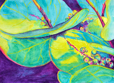 Painting - Sea Grapes by Patricia Beebe