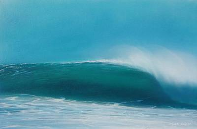 Painting - Sea Green by Mark  Leavitt