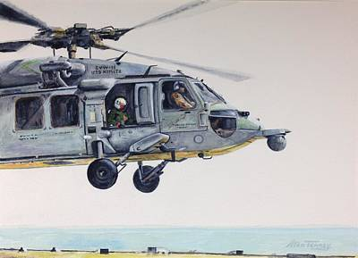 Painting - Sea Hawk by Stan Tenney