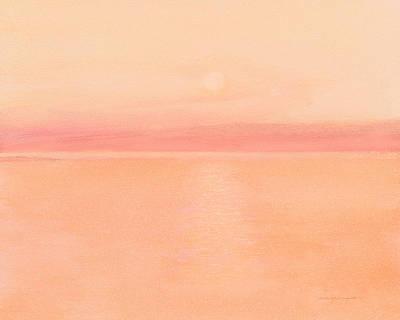 Sea Horizon Art Print by J Reifsnyder