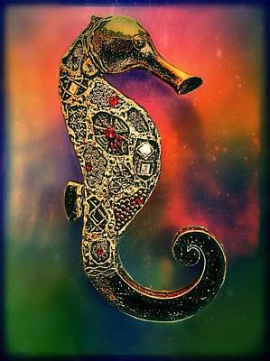 Horse Jewelry Photograph - Sea Horse by Eddie G
