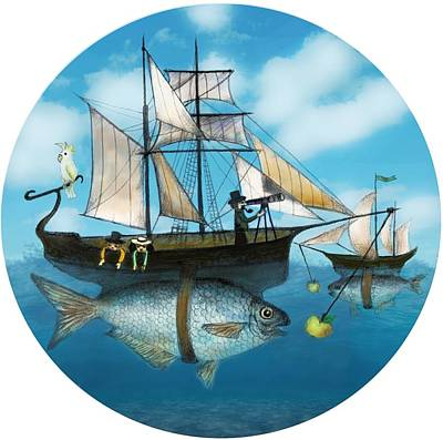 Sea Journey Art Print
