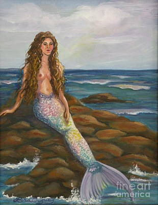 Painting - Sea Maiden by Lora Duguay