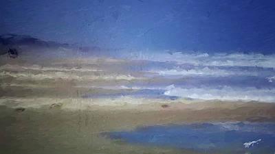 Sea Mist Art Print by Anthony Fishburne