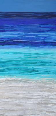 Painting - Sea Of Blue by Elizabeth Langreiter