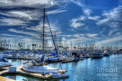 Photograph - Sea Of Blue by Kevin Ashley