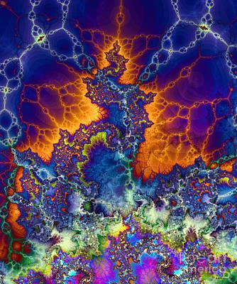 Mental Process Digital Art - Sea Of Creativity by Elizabeth McTaggart