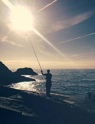 Angling Photograph - Sea Of Dreams.. by A Rey