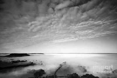 Sea Of Fog Art Print by Anne Gilbert