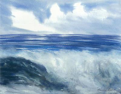 Sea Of Glory  Art Print by Karen  Condron