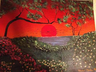 Art Print featuring the painting Sea Of Japan by Michael Rucker