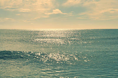 Sunrise At The Beach Photograph - Sea Of Tranquility by Laura Fasulo