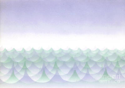 Painting - Sea Of Trees by Patricia  Tierney