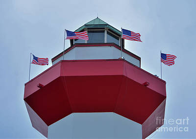 Photograph - Sea Pines Lighthouse by Bob Sample