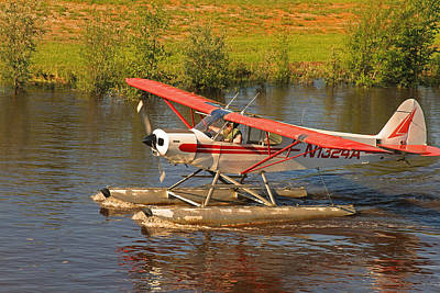 Photograph - Sea Plane In Alaska by Ronald Olivier