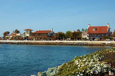 Photograph - Sea Port Village San Diego by Jasna Gopic