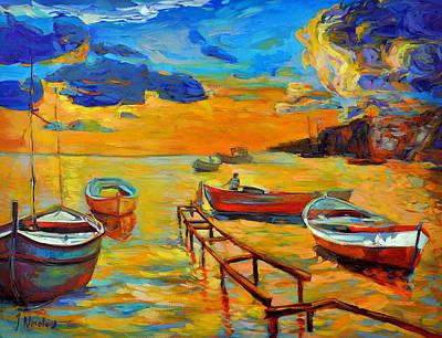 Sea Scenery Print by Ivailo Nikolov