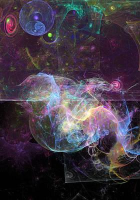 Digital Art - Sea Serpent by Russell Kightley