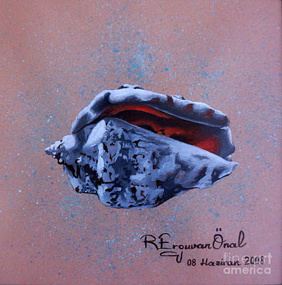 Aloha For Days - Sea shell 2  - Concha de mar 2 by Rezzan Erguvan-Onal
