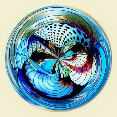 Sea Shell Orb Art Print by Paulette Thomas