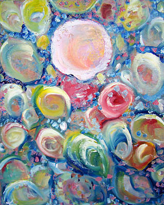 Shell Pastel Painting - Sea Shells by Patricia Taylor