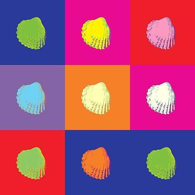 Sea Shells Popart Original